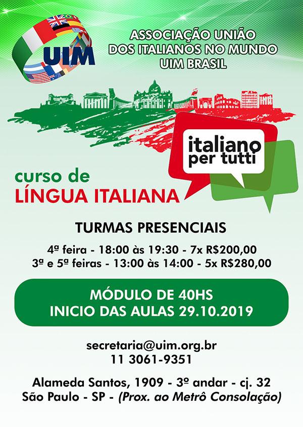 curso de italiano presencial