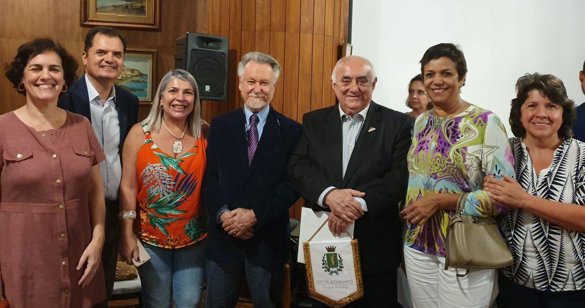palestra do prof. João Cândido Portinari