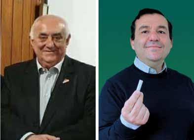 Plinio Sarti, presidente UIM e Marco Recchioni